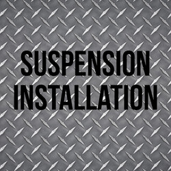 Suspension Installation