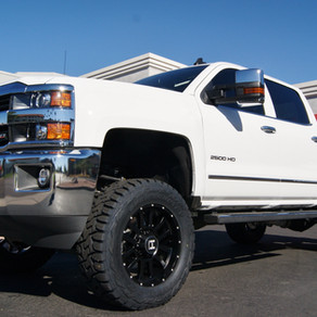 2016 Chevrolet 2500HD White