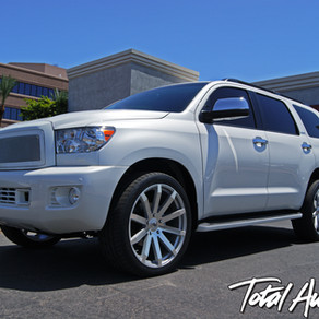 2014 Toyota Sequoia Platinum White