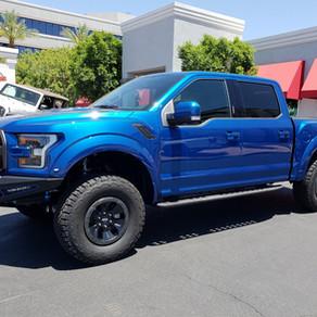 2018 Ford Raptor Blue
