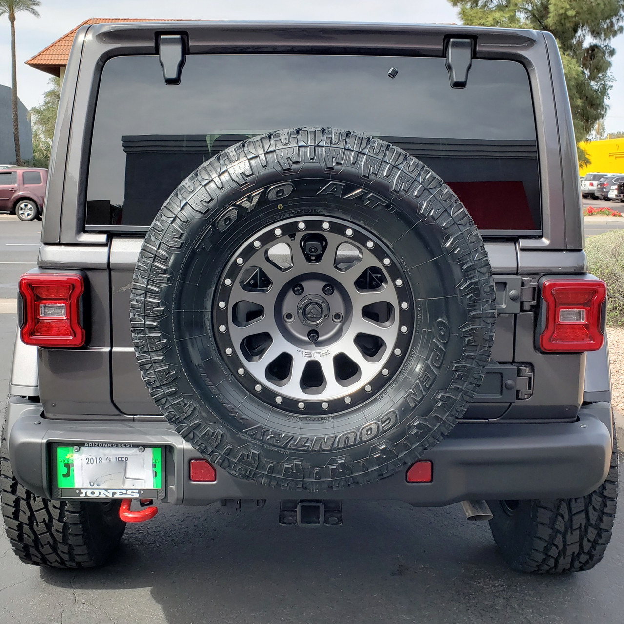 2018 Jeep Rubicon JL Granite