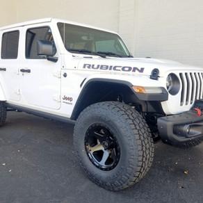 2018 Jeep JL Rubicon White