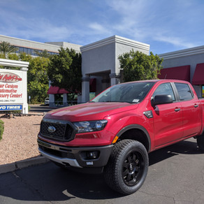 2019 Ford Ranger Sport Red