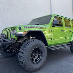 2019 Jeep JL Rubicon Mojito Green