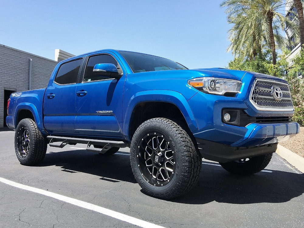 2016 Toyota Tacoma TRD 4x4 Sport Blazing Blue Pearl