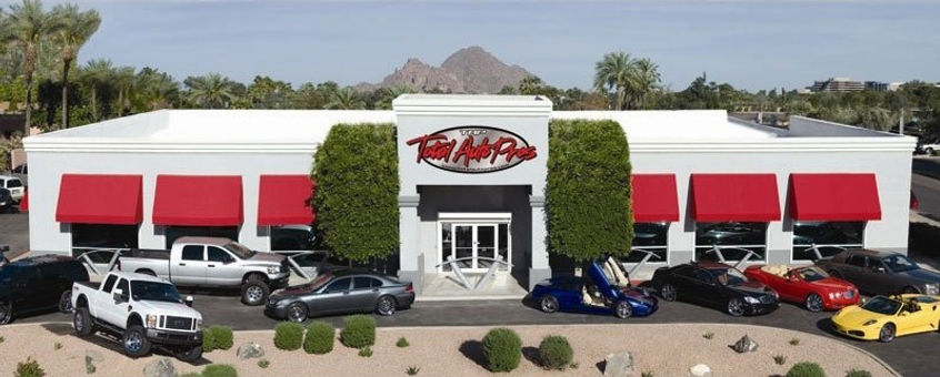 Total Auto Pros Store Front | Building on 16th Street and Camelback in Phoenix Arizona