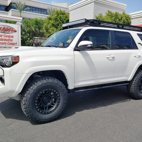 2018 Toyota 4Runner TRD Off-Road White