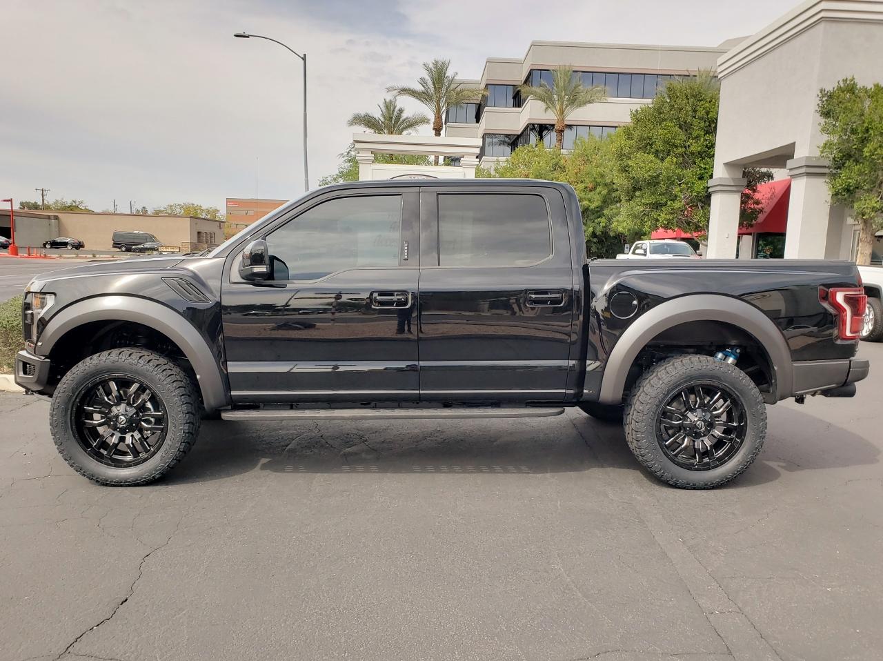2018 Ford Raptor Black
