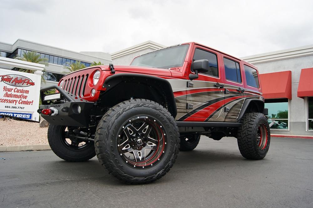2016 Jeep Rubicon TAP Edition