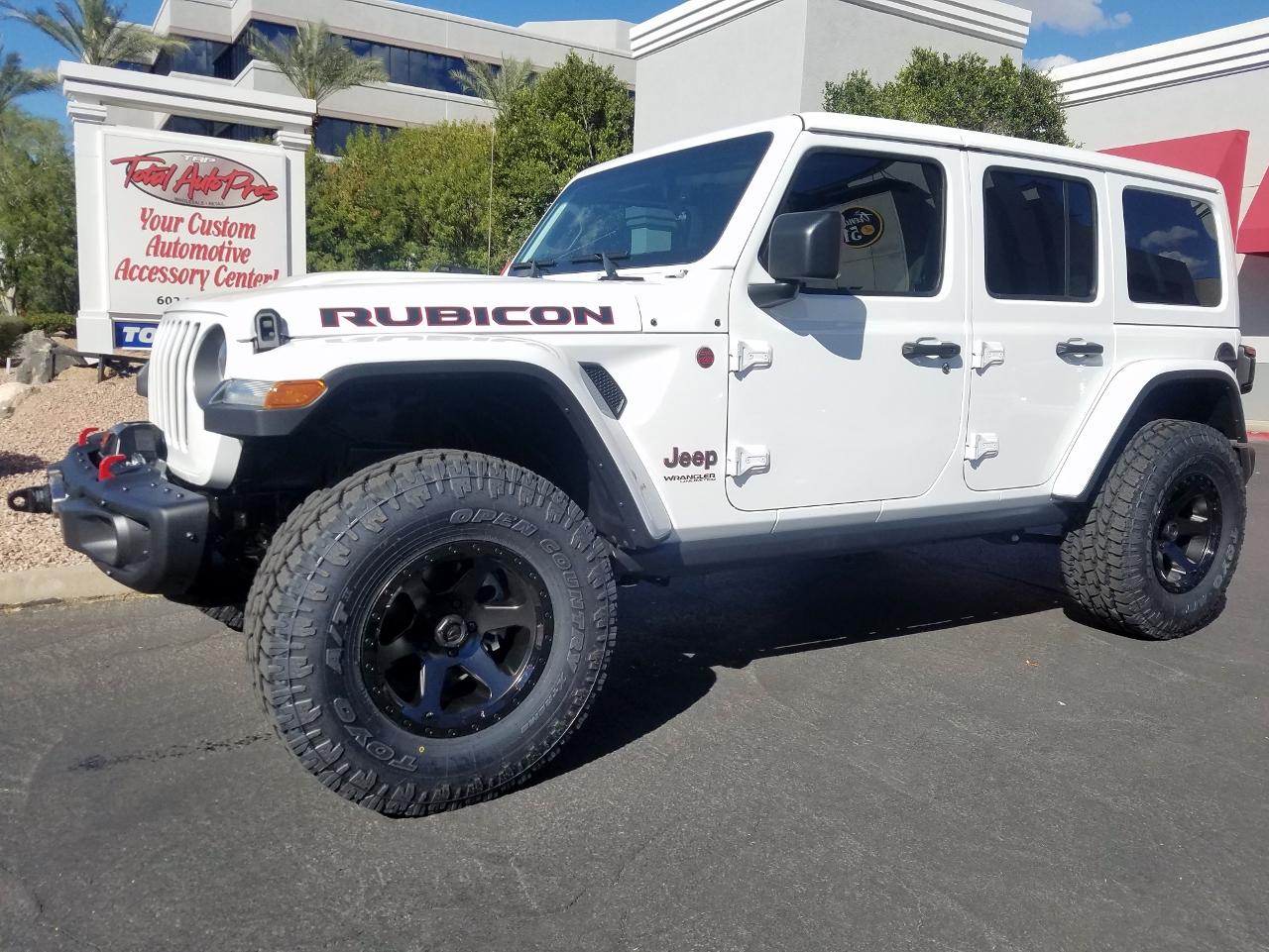2018 Jeep Rubicon JL White