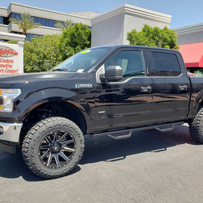 2017 Ford F150 Black