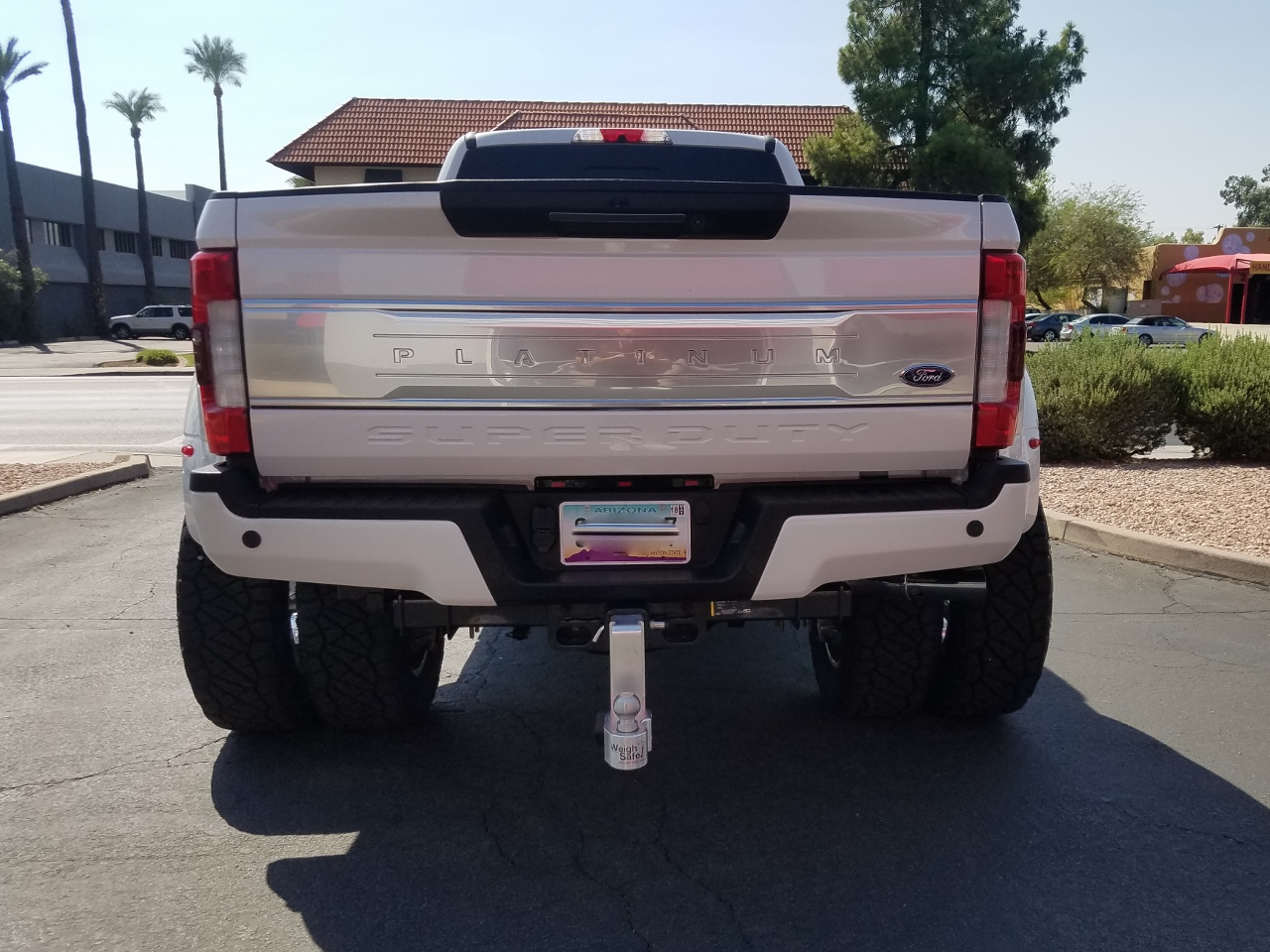 2017 FORD F450 DUALLY WHITE