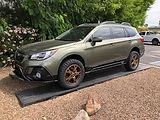 Subaru Outback method wheels bfg tires (
