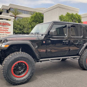 2018 Jeep Rubicon JL Black