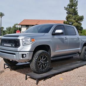2014 Toyota Tundra Crew Max Silver