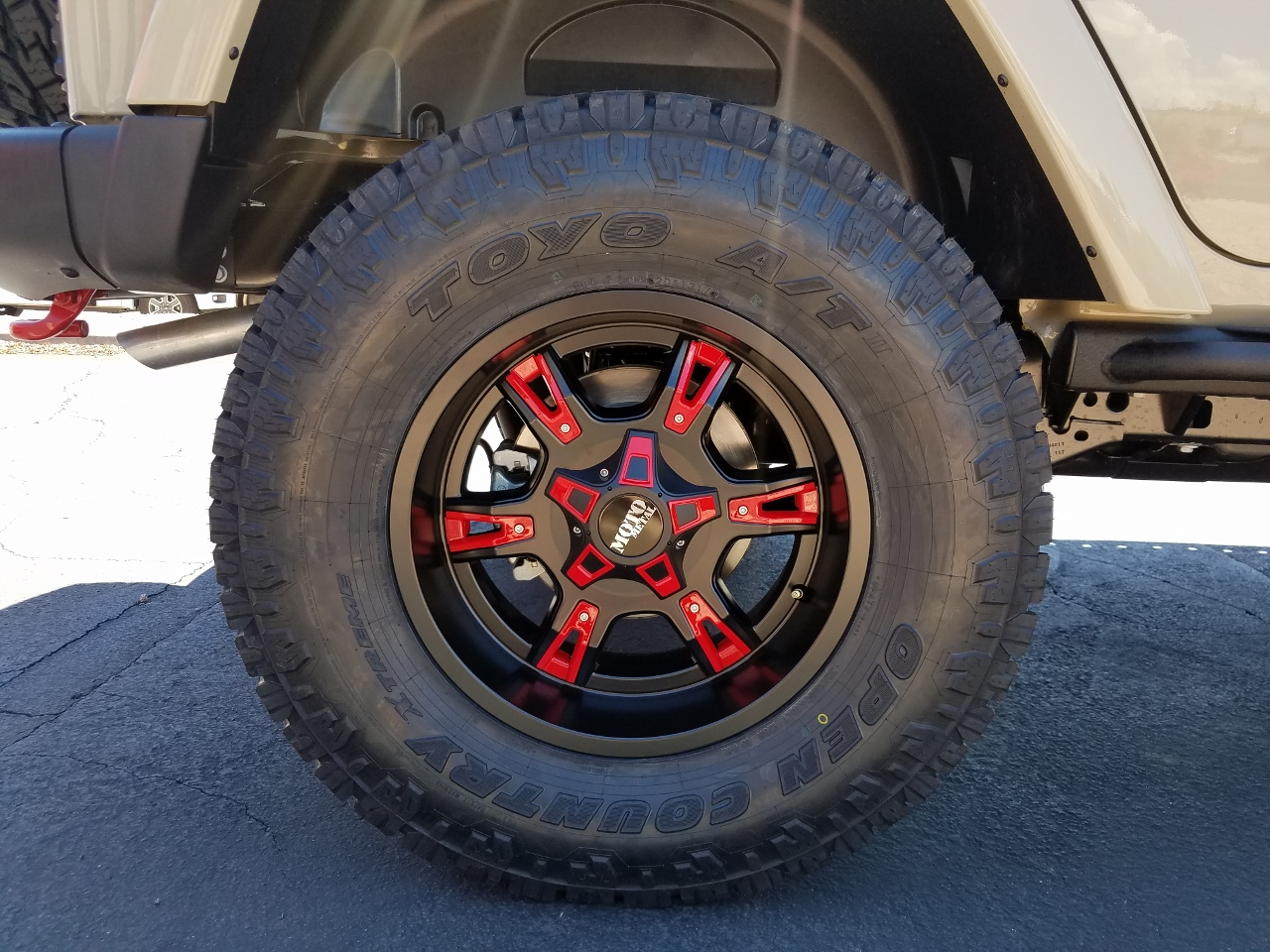 2017 Jeep Rubicon Recon Gobi