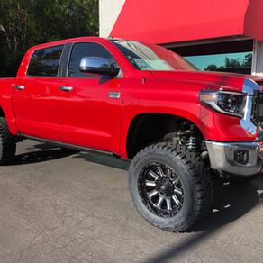 2019 Toyota Tundra 1794 Red