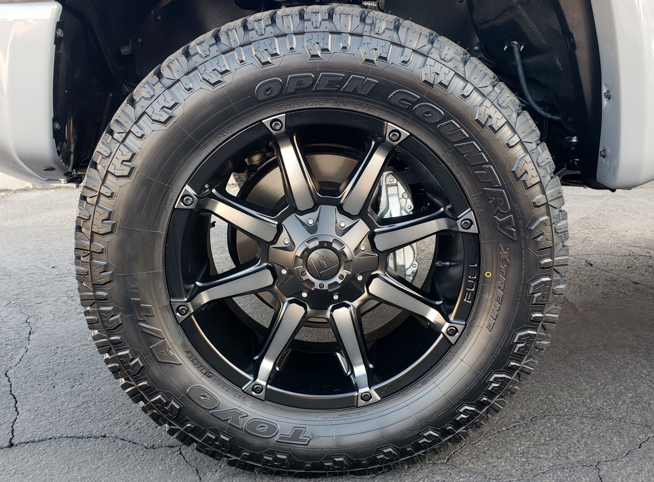 2018 Toyota Tundra Cement