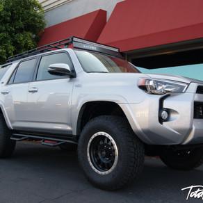 2015 Toyota 4Runner Silver