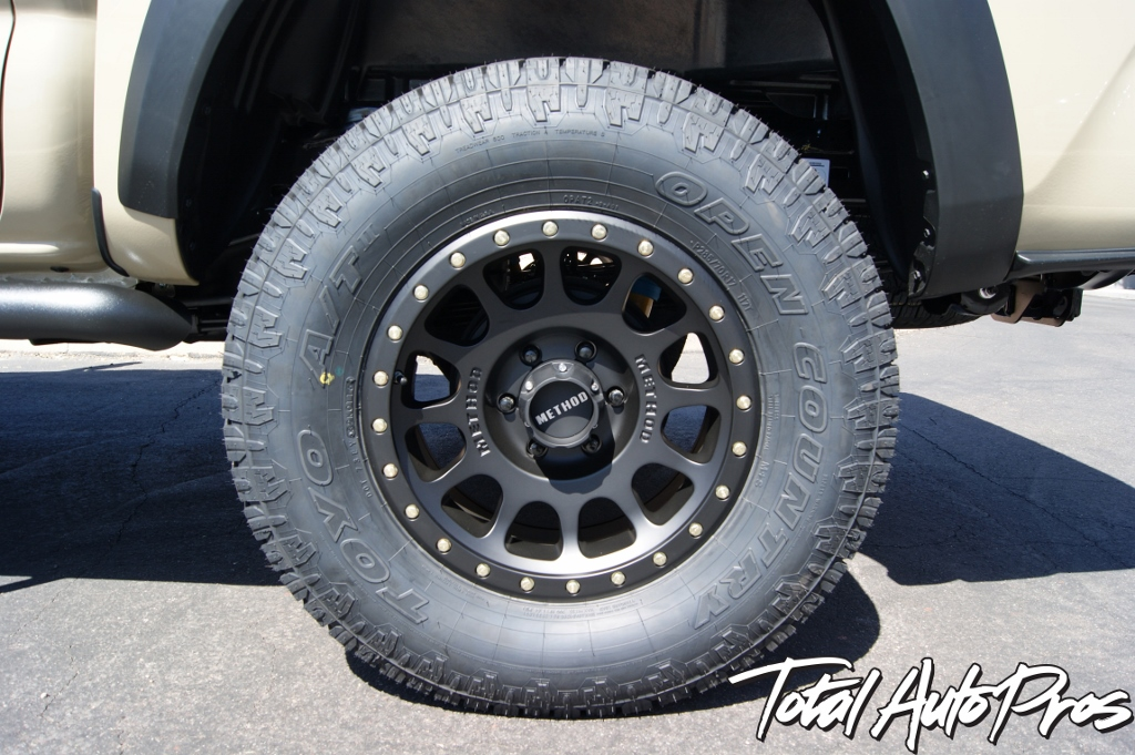 2016 Toyota Tacoma Quicksand Method Wheels Toyo Tires (8)