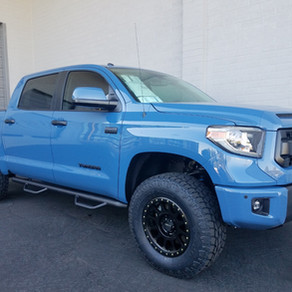 2018 Toyota Tundra Blue
