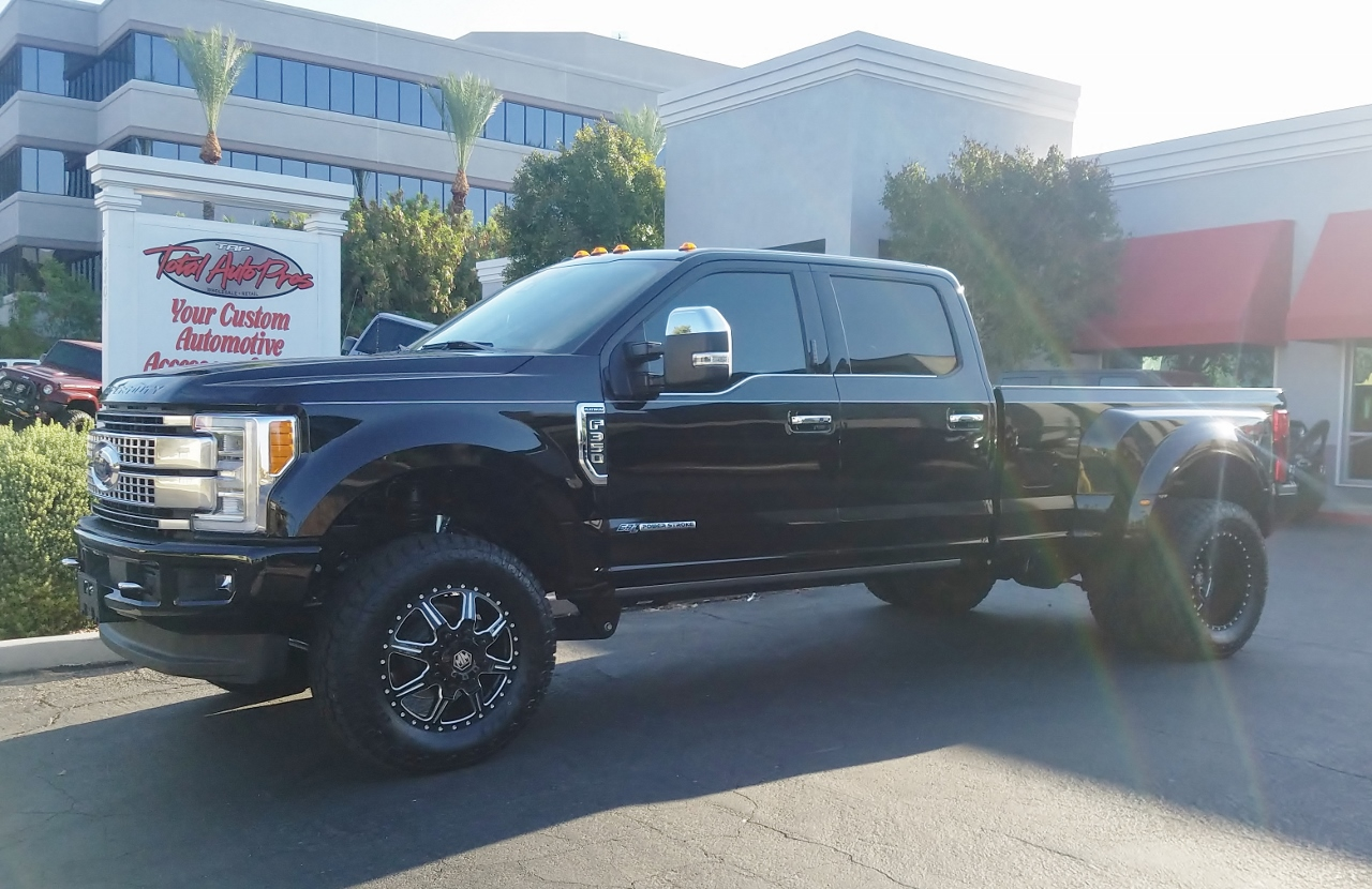 2017 Ford F350 Dually Black