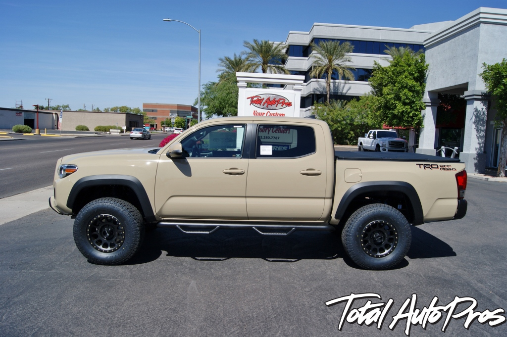 2016 Toyota Tacoma Quicksand Method Wheels Toyo Tires (5)