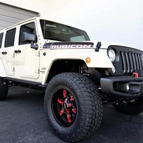 2017 Jeep Wrangler Rubicon Recon Gobi