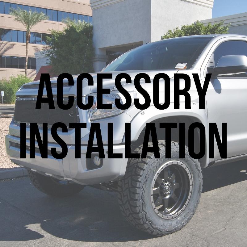 Accessory Installation