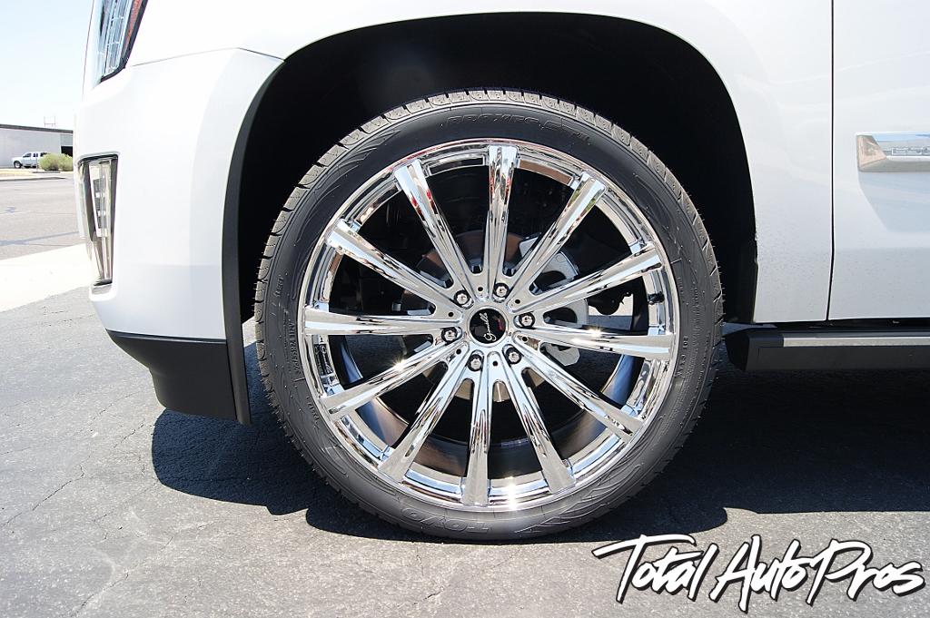2016 Cadillac Escalade Custom Wheels