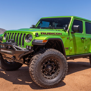 2018 Jeep Rubicon JL Green