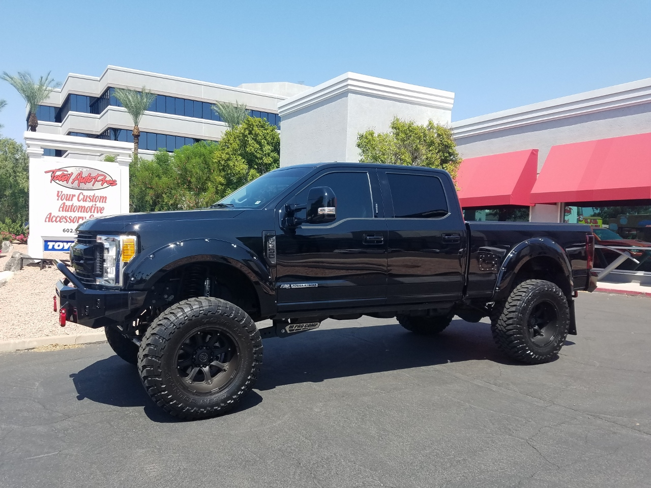 2017 FORD F250 SUPERDUTY BLACK