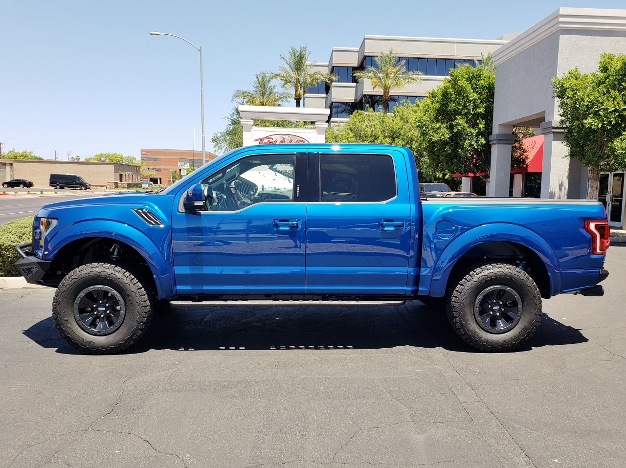 2018 Ford Raptor Blue
