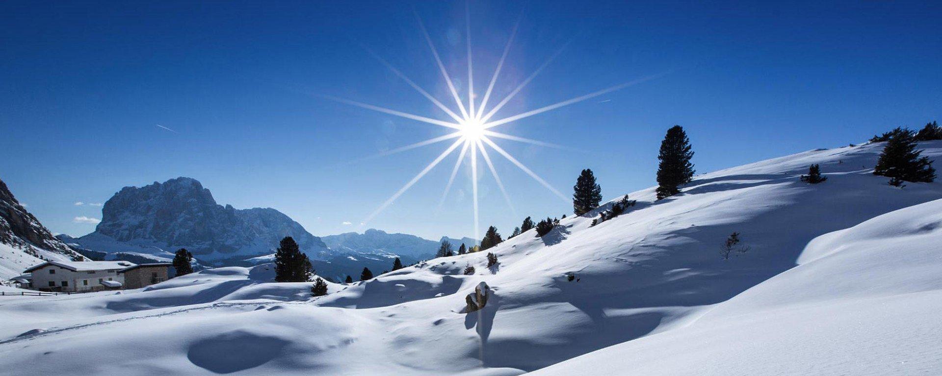 Ciaspole o sci ?