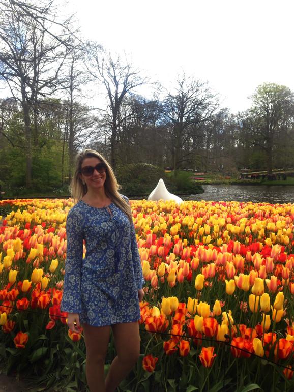 Diário de bordo... Keukenhof, o lindo parque das tulipas