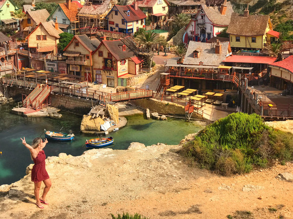 Desbravando Malta – Popeye Village e Golden Bay