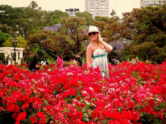 El Rosedal, o Jardim das Rosas de Buenos Aires