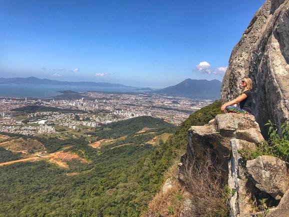 Trilha da Pedra Branca, mais uma ótima opção para os aventureiros