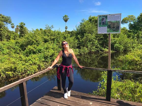 Eu conheci o Pantanal...