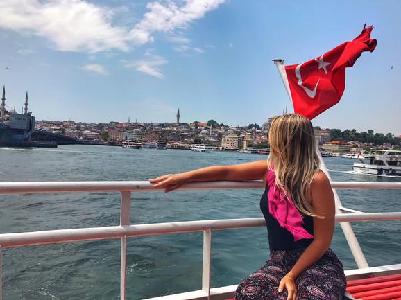 Istambul, um pé na Europa e o outro na Ásia