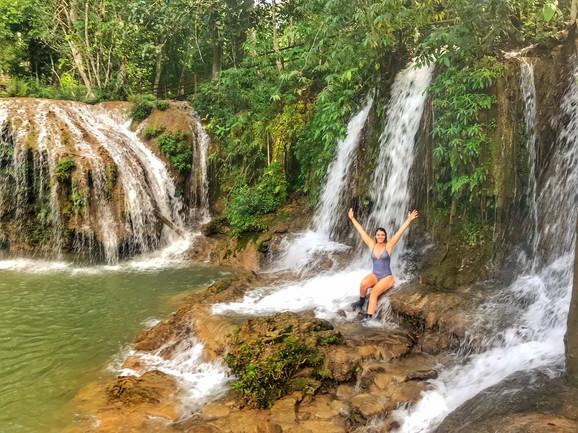 Trilhas e Cachoeiras na Estância Mimosa, em Bonito