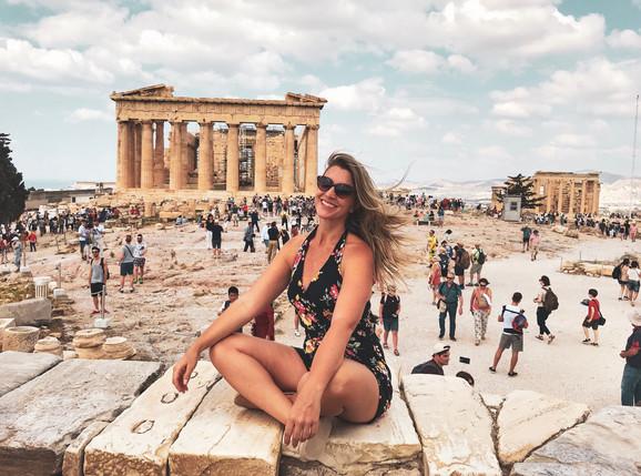 Atenas, uma sala de aula a céu aberto