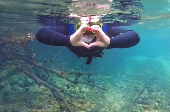 A incrível sensação de fazer flutuação no Rio da Prata