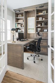Custom Office Built-In