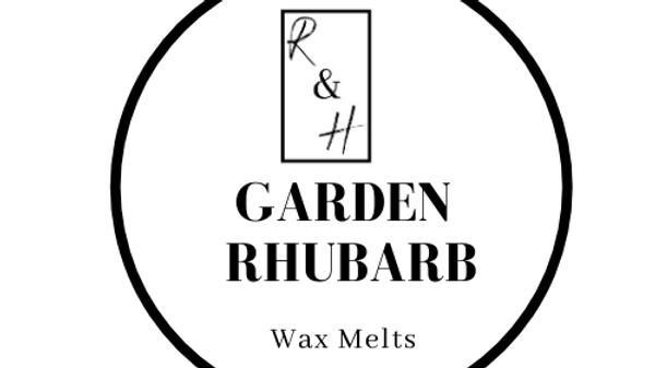 Garden Rhubarb Heart Wax Melt