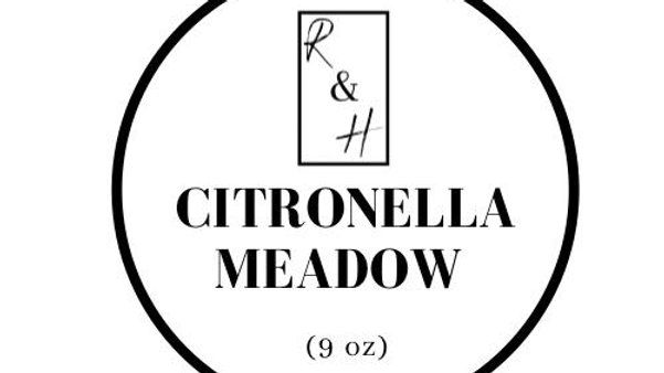 Citronella Meadow - Grow me Candle