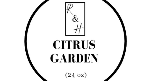 Citrus Garden- 3 Wick Candle