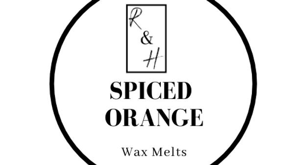 Spiced Orange Heart Wax Melt