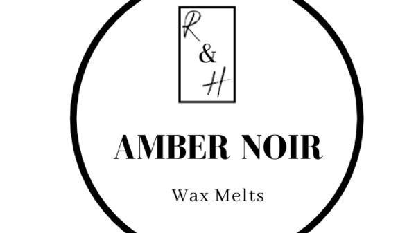 Amber Noir Heart Wax Melt