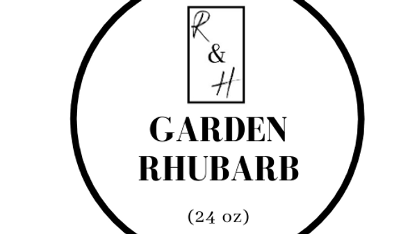 Garden Rhubarb - 3 Wick Candle